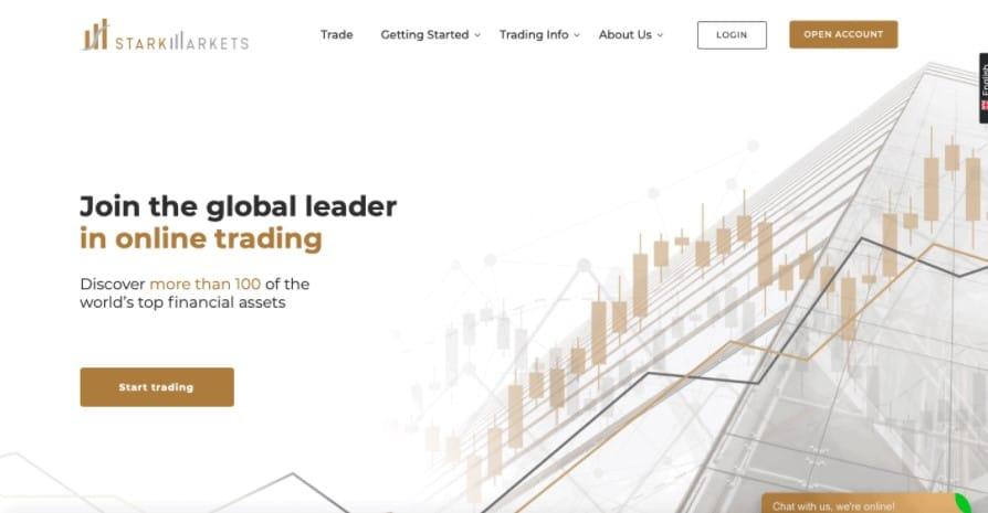 StarkMarkets website