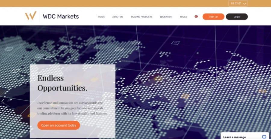 WDC Markets website