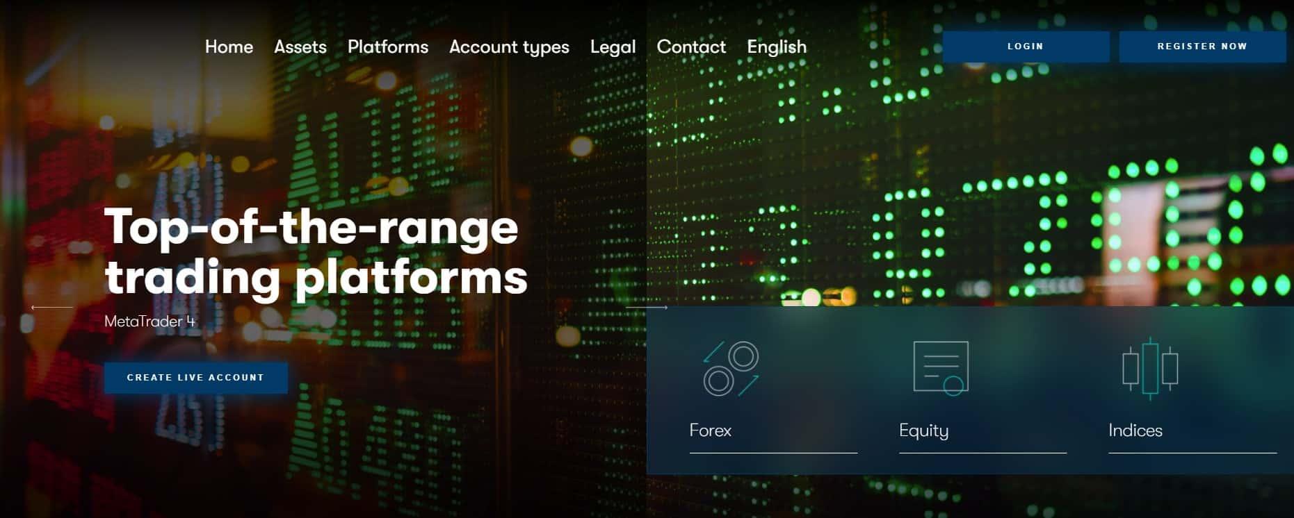 Foptrade website