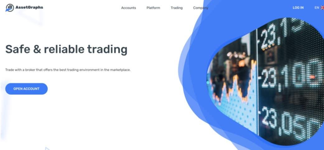 Asset Graphs website