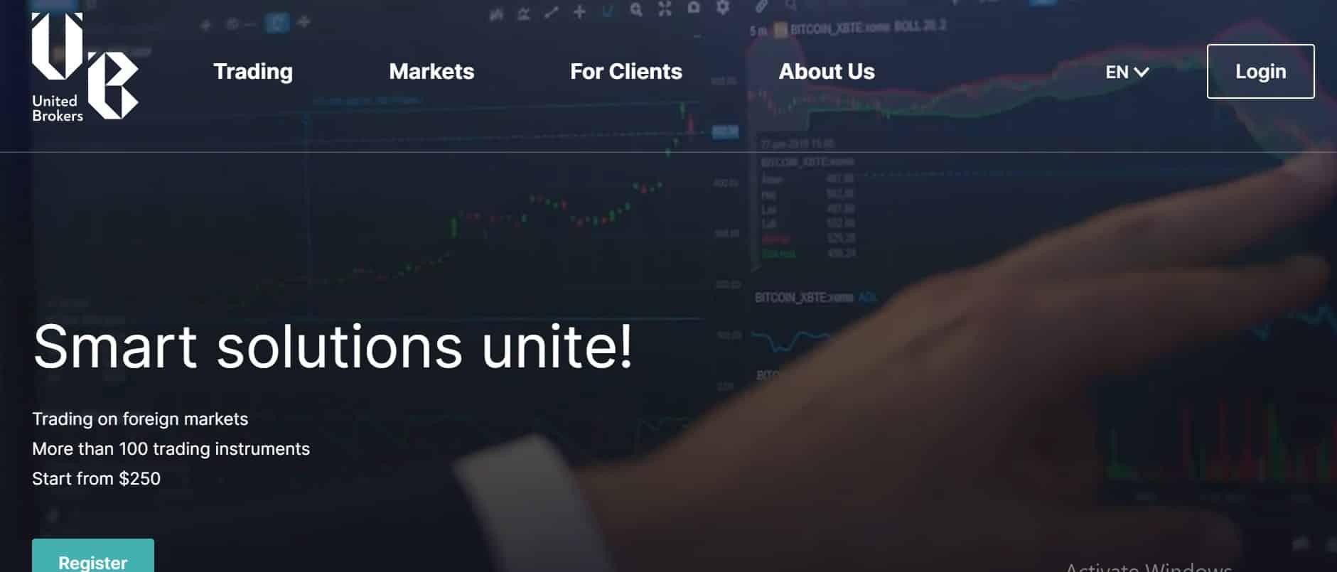UnitedBrokers website