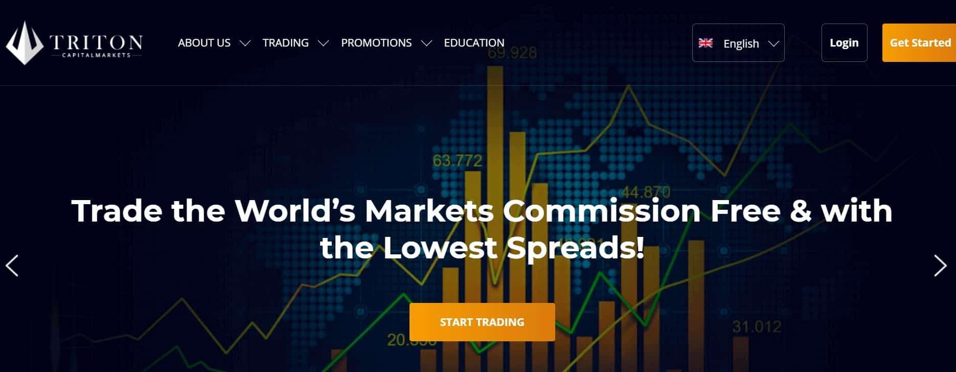 Triton Capitalmarkets website