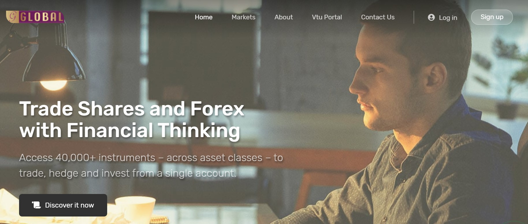 Global Forex Trade website