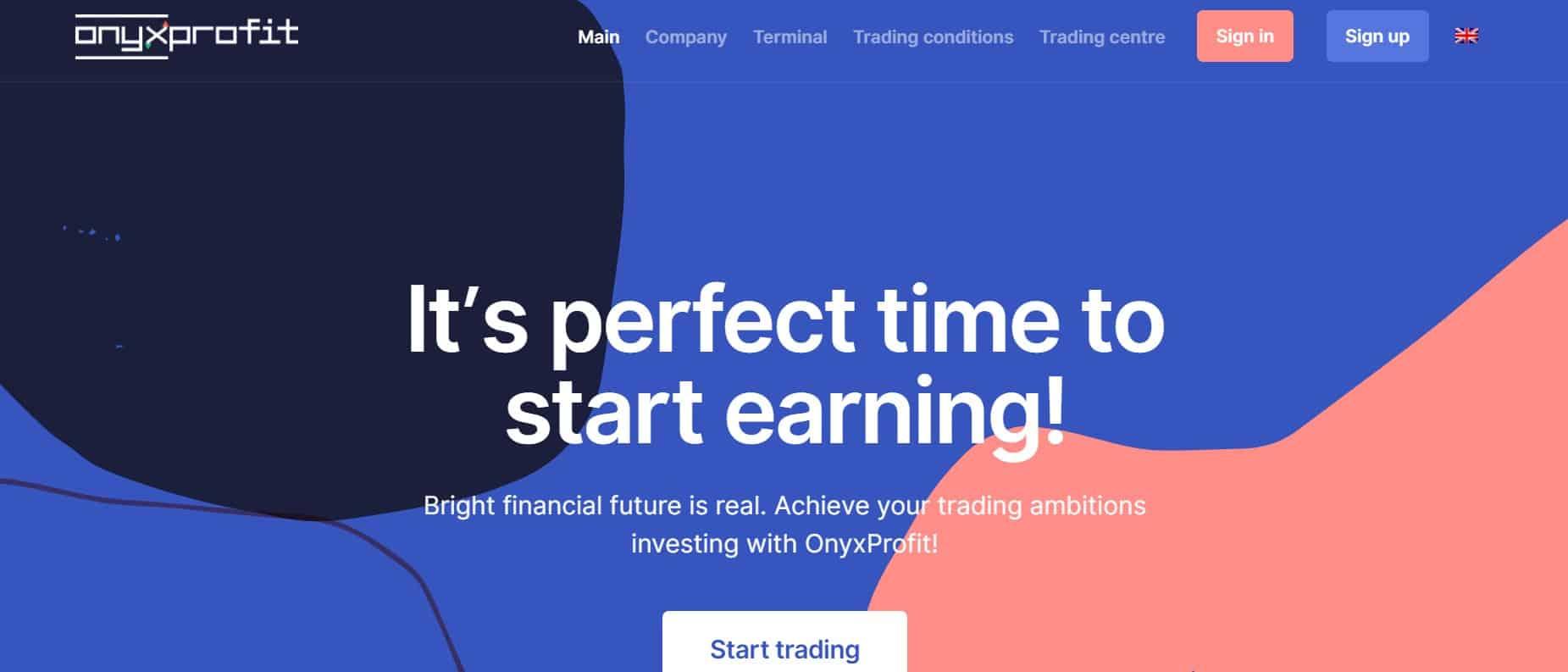 Onyxprofit website
