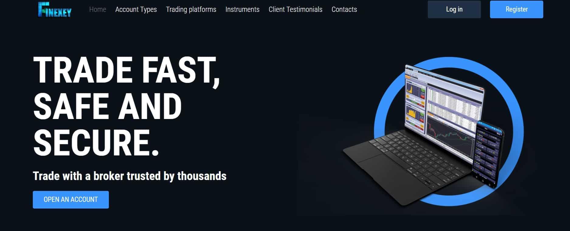 Finexey website