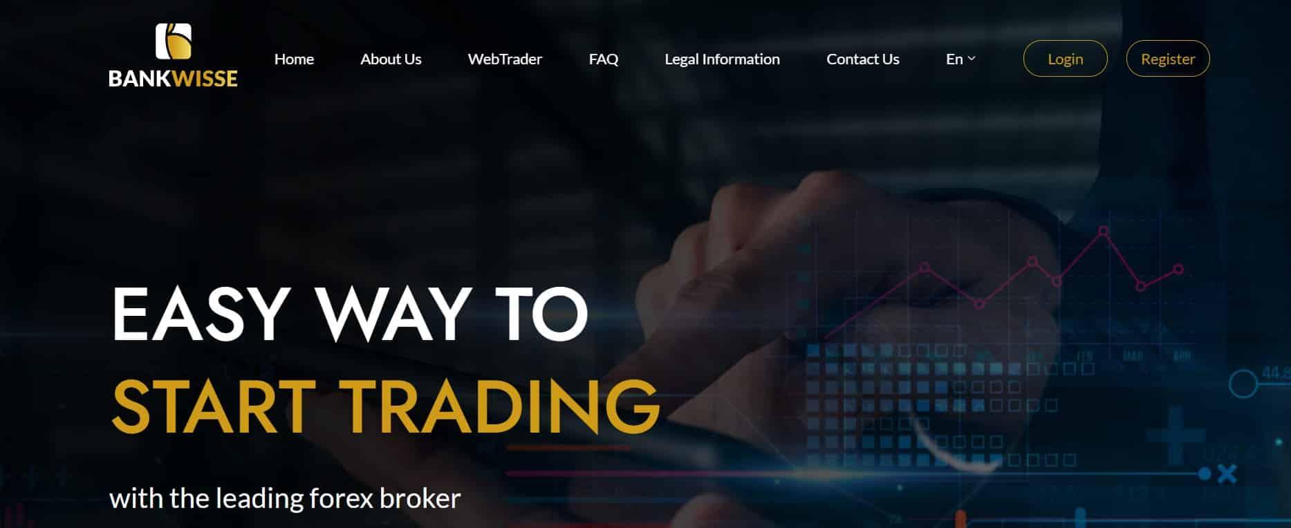 Bankwisse website